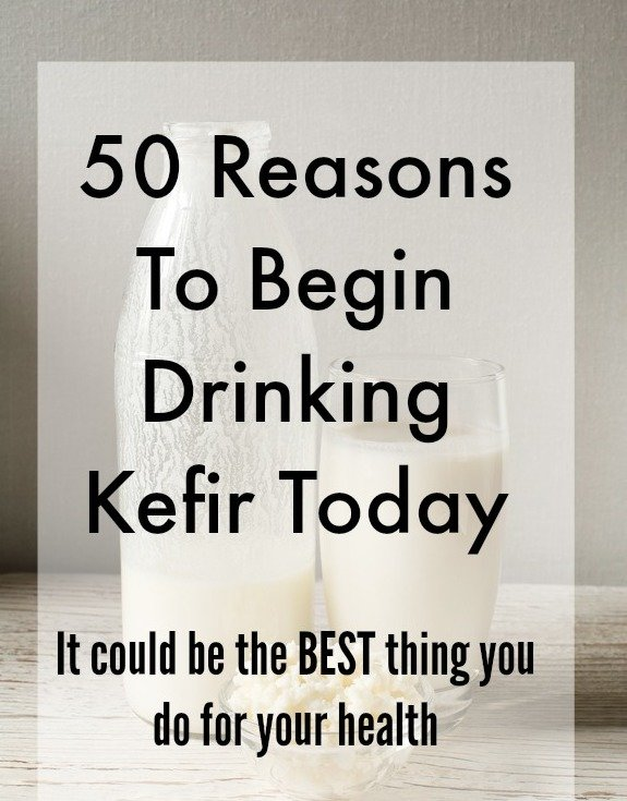 50 Reasons to Drink Kefir Today